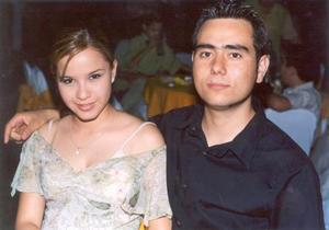 <u>30 de agosto </u><p> Rocío Ivonne González Barrón y Alejandro Zúñiga Padilla.