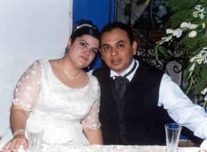 Alina Tirado Maldonado y Víctor López Martínez.