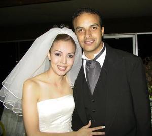 Ana Carolina Chew Gómez LLanos y Carlos García Aymerich