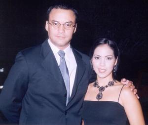 José Luis García Aymerich y Alejandra de García captados recientemente
