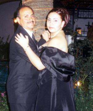 <u>31 de agosto </u><p> Víctor López Gaytán con su hija Cristina López.