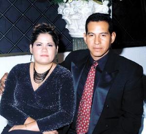 Lucina Cabrales de Ortiaz y Jesús Ortiz.