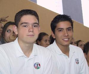 Andrés Garza y Jaime Burciaga.