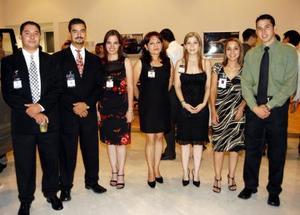 Héctor Campos, Juan Miranda, Tuty Valdés, Alejandra Álvarez, Evelina Morales, Mayela Márquez y Ricardo Amozurrutia.