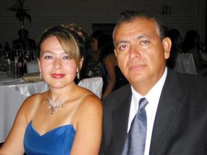 Amabilia de Monreal y Migual Ángel Monreal.