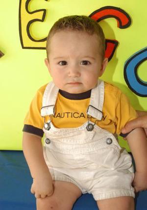 Al cumplir su primer año de vida, Diego fue captado en su fiesta, es hijo de Esrom Andrés García y Ana Marcela Ortega.