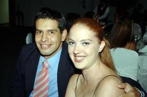 Alfonso Guerrero y Karla Sánchez.