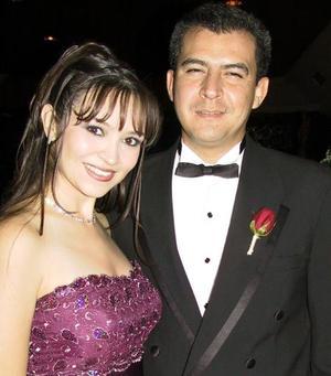 <u>03 de septiembre</u> <p>  Adriana Arroyo de Chew y Fernando Chew Gómez LLanos.