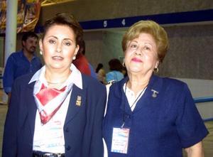 <u> 05 de septiembre </u> <p> Norma de Hernández y Cuquita de Martínez.