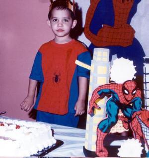 Esteban Martínez Hernández celebró sus tres años de vida con un convivio preparado por sus papás Rodolfo Martínez Rojas y María del Pilar H. de Martínez.