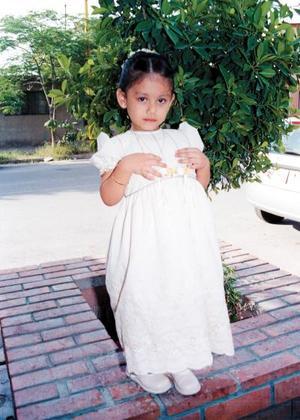 Festejaron el tercer cumpleaños de la niña Fátima del Rosario Rodríguez López.