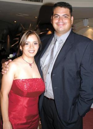 <u> 05 de septiembre </u> Sandra de Luévanos y Jorge Luévanos.