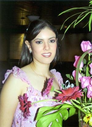 Lic. Sandra María Garibay Franco en su primera despedida de soltera, organizada por su mamá Sara Elena Franco de Garibay.