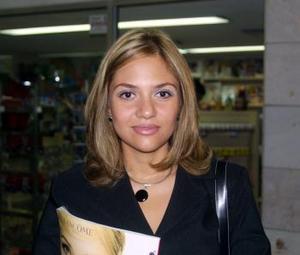<u> 05 de septiembre </i> <p> Para asistir a una junta de trabajo María Fernanda García Chávez se trasladó a la ciudad de Chihuahua.
