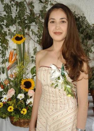 Rosa María Aguilera Moreno, en la despedida de que le ofrecieron por su próxima boda con Roberto Contreras Godoy.
