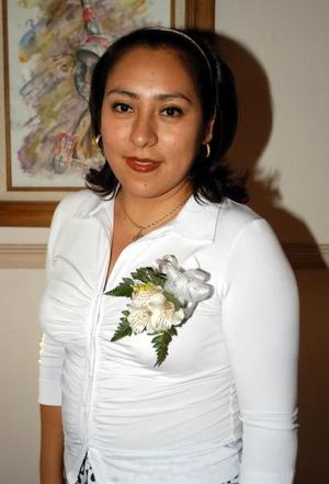 Una despedida de soltera le ofrecieron a Michelle Monzallo León , por su cercano enlace con Arturo Rodríguez Varela.
