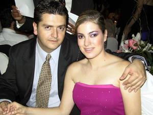 Alejandro Veyán y Paola Boehringer.