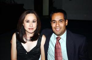 Angélica Quintero y Ricardo Vázquez.