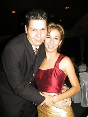 Jesús Gamboa y Claudia Arroyo de Gamboa, en pasado acontecimiento  social.