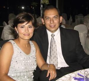 Patricia Gurza de Cabello y Alejandro Cabello.