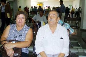 Alberto Delgado y su hija Antonieta Delgado viajaron  a La Paz B.C.
