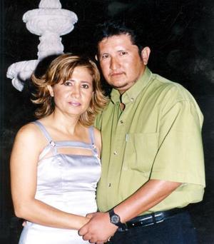 Anabel Monreal Loza y Julio César Barrera Villalobos.