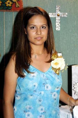 <u> 13 de septiembre </u> <p> Una fiesta prenupcial le ofrecieron a Cindy Luz María Ramírez Martínez preparada por su mamá Josefina M. de Ramírez.