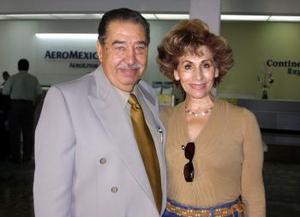 Antonio Tello y Gisela Alvarado de Tello regresaron del D.F.