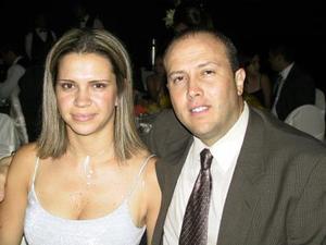 Valeria Robles de Dávila e Ismael Dávila Segura asistieron a la boda de Francisco Javier Camacho y Tahany Jalil.