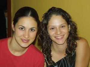 Alejandra Aguilar y Alejandro Orozco.