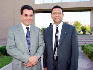 Andrees Sotomayor y Luis Moreno