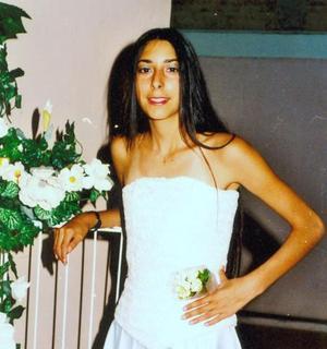 Christelle Raisse Ríos festejó su quince aniversario con una fiesta ofrecida por la familia Ríos Ortega.