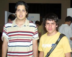 Israel Ybarra y Jesús Correa.