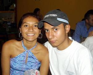 Karen Amaya y Alonso Hernández