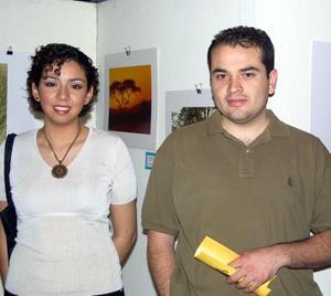 Magdalena Banuet y  Manuel Hernández.
