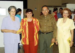 Margarita Bañuelos del Río, Lulia González de Del Río y María de Lourdes Bañuelos del Río.