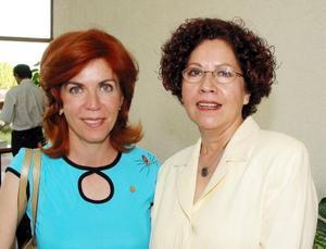 Mavisa Rodríguez y Cecilia Sandoval.