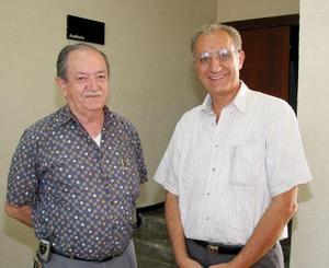 Nicolás Zarzar y Daniel Rico.