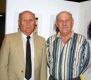 Raúl Valdés Sánchez y Sergio de la Garza Villarreal.