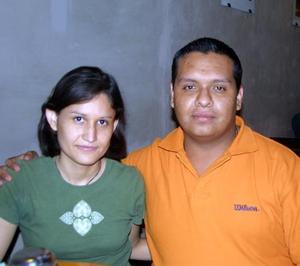 Sofía Rivera y Carlos Valdés.