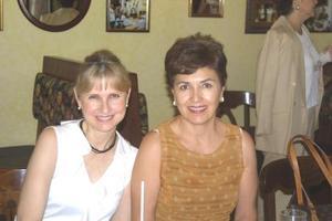 <U> 14 de septiembre </U> <P>  Lucy de Calvillo y Laura de Berlanga.