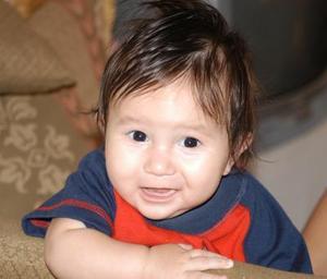 -En reciente festejo infantil fue captado el pequeño Jesús Andrés Galindo Herrera.