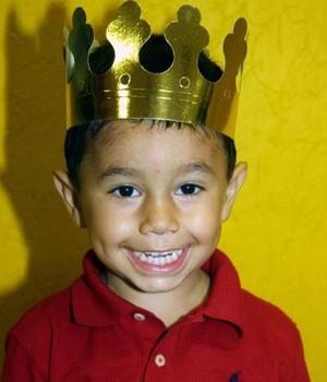 Por su tercer cumpleaños el niño José Ramón fue festejado con una divertida fiesta ofrecida por sus papás, José Ramón Corona y Maru González de Corona.
