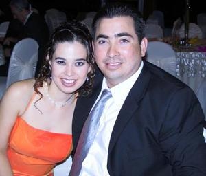 Moyel I. de Zorilla y Conrado Zorrilla amigos de los recién casados Francisco Javier Camacho y Tahany Jalil.