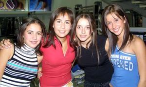 <U> 17 de septiembre </U> <P> Daniela Garza, Sofía González, Cristy Ruiz, y Anabel González.
