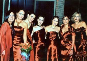 Lucy Trujillo Hernández de Caminiti, Regina Flores, Barby Rodríguez de Batarse, Jilma Ysaís, Violeta García y Vero Castañeda.