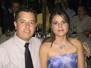 <u> 20 de septiembre </u> <p> Orlando Murillo y Sandra Díaz García.