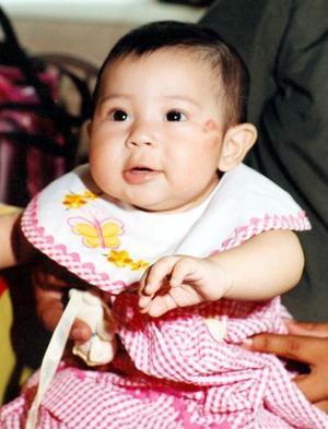Zoila de Ángel Montiel Rodríguez fue captada en un festejo infantil.