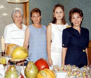 <u> 21 de septiembre </u> <p> Una primera despedida de soltera le ofrecieron a Laura Patricia Flores Zorrilla, preparada por Paty  de Flores, Gabriela de Martínez, Isabel de Zorrilla y Cecilia de Zorrilla.