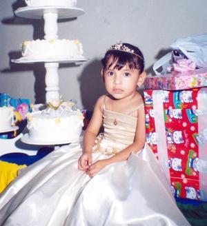 <u> 21 de septiembre </u> <p> Valeria Jocelyn González Ramírez cumplió tres años de edad  y fue festejada por sus padres, Gerardo González del Río y Yadira Ramírez Pineda